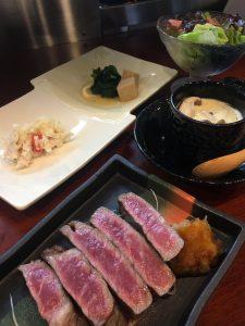食の雫 吟(しょくのしずく ぎん)香川県高松市の創作割烹店 ビーフカツ御膳